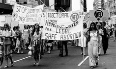 Second Wave Feminism was a huge movement in the for equal rights for women. These rights included safe, legal abortions, birth control pills, equal pay and treatment in workplace and economic gain. Flora Tristan, Second Wave Feminism, Lgbt, Womens Liberation, Feminist Movement, Protest Signs, Family Values, Girls Rules, Pro Choice
