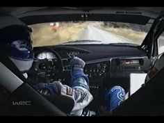 Colin McRae. R.I.P. to this driver who took more miles drifting than driving directly ahead. :-) Not all the time the fastest, but one the most captivating WRC drivers...