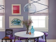 HGTV / Decorate With Pantone's 2014 Color of the Year, Radiant Orchid / by Jeanine Hays