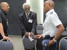 Regional #STEM programs in the National Capital Region participated in National BDPA's annual Regional #TECH Summit and 2015 #APBI (Advance Program Briefing to Industry) round tables and panel discussions. Above (L-R) Donnie Shaw, YMCA; Dr. Jesse Bemley, JEF; and LTCOL John Yourse, U.S. Air Force. Photo by Catherine Williamson: bdpatoday © 2014