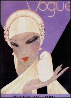 #ArtDeco portada de #Vogue