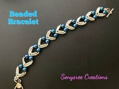 Beaded Jewelry Best collection of free jewelry making tutorials, craft ideas, design inspirations, tips and tricks and trends Armband Tutorial, Armband Diy, Beaded Bracelets Tutorial, Beaded Bracelet Patterns, Beaded Necklace, Embroidery Bracelets, Bracelet Designs, Bead Jewellery, Seed Bead Jewelry