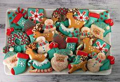 ¿Te imaginas regalar de estas galletas a tus compañeros? ¡Les encantará! #food #cookies #christmas