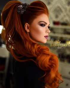 Pink-Red with Yellow Highlights - 20 Cool Styles with Bright Red Hair Color (Updated for - The Trending Hairstyle Magenta Hair Colors, Bright Red Hair, Red Hair Color, Beautiful Red Hair, Beautiful Redhead, Dead Gorgeous, Long Red Hair, Big Hair, Ginger Hair