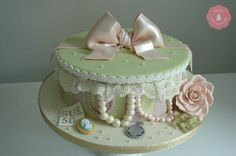 Vintage Hat Box Cake | Home About Contact Cookies & how we use them
