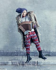 Bang G-Dragon Sung Vogue Magazine