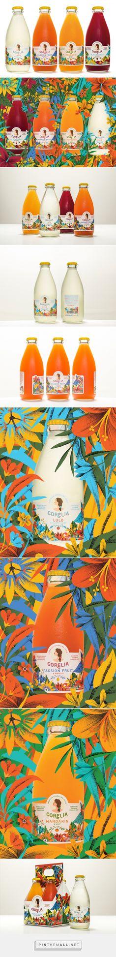 Corelia. Premium Sparkling Juice by Siegenthaler &Co