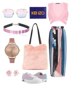 """""""Sem título #57"""" by anthony-marcos ❤ liked on Polyvore featuring Mara Hoffman, Boohoo, Nasty Gal, Kenzo, LMNT, Olivia Burton and Irene Neuwirth"""