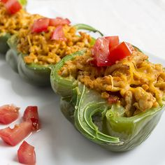 Skinny Taco Stuffed Peppers | Skinny Mom | Where Moms Get The Skinny On Healthy Living