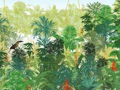 TROPICANA Tropical attitude Line by Wallpepper