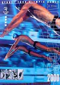 Olympic Games Poster 2000 Sydney