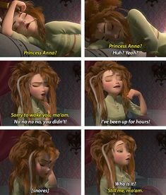 the only realistic representation of how a woman wakes up