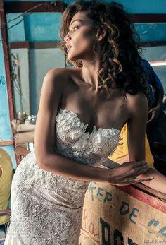 julie vino fall 2018 havana strapless sweetheart neckline full embellishment elegant sexy fit and flare wedding dress royal train (12) zv