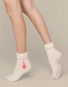 High Elasticity Girl Cotton Knee High Socks Uniform Beach Sand Color Starfish And Shells Women Tube Socks