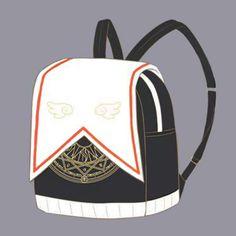 Cardcaptor Sakura Magical Girl Clow Card Backpack