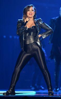We LOVE Demi Lovato's rocker style!