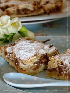 Fashion and Lifestyle Czech Desserts, Sweet Desserts, Sweet Recipes, Slovak Recipes, Czech Recipes, Eastern European Recipes, Good Food, Yummy Food, Sweet Cakes