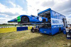 Matra MS630 et son camion à LeMansClassic 2016  MoteuràSouvenirs Reportages : http://newsdanciennes.com/tag/le-mans-classic/ #ClassicCars #ClassicRacing