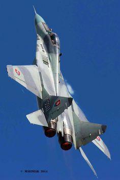 MiG-29 Slovak Air Force, climbing vertical