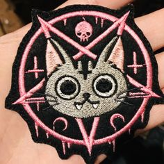 #patch #coolpatch #patches #pinsandpatches #stickerpatch #embroidery #cute #kawaii #kawaiipatches #catpatch #cat