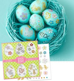 Bling out your Easter eggs!