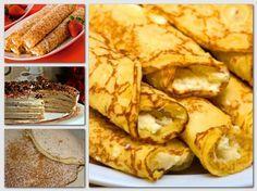 Palacsintatészta készítése 11 mennyei palacsinta recept! Snack Recipes, Cooking Recipes, Snacks, Crepe Cake, Hungarian Recipes, Food Porn, Brunch, Food And Drink, Yummy Food