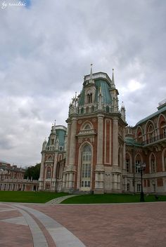 Tsaritsyno, The Grand Palace - Moscow, Russia