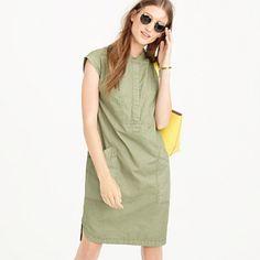 J.Crew Soft henley dress