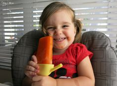 Toddler approved ice pops that have hidden veggies in them!!! My kid fights me on the greens and this is a perfect way to sneak in the healthy goods! Perfect for summer too!