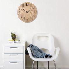Umbra® Shadow Wall Clock in Natural - BedBathandBeyond.com
