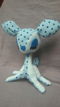 Made by me :) DIY fawn plush