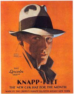 Knapp-Felt  Fedora  1930