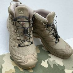 hot sale online 669fa fbd1f Salomon XA PRO 3D GTX Forces Tactical Shoes Size 10 New Coyote  fashion   clothing
