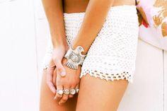 Crochet Lingerie / Wedding Style Inspiration / LANE