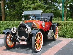 1912 Cartercar Model R Roadster - (The Motor Car Co. & The Cartercar Co. Pontiac, Michigan 1906-1916)