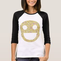 Emoticon Happy Face T Shirt - girly gift gifts ideas cyo diy special unique