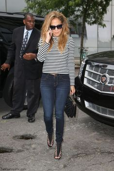 Jennifer Lopez street style