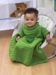 Mini snuggie to crochet--pinned this for you  @Virginia Thompson