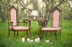 vintage furniture rentals from Ira and Lucy Vintage Rentals and Styling