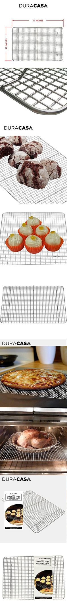 Premium Quality Cooling Rack for Baking Set of 2 Included - Non ...