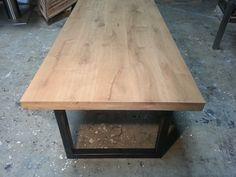 Eiken tafels: staal 9
