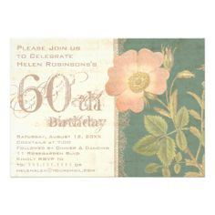 $$$ This is great for          	Elegant Gardener's 60th Birthday Vintage Rose Announcements           	Elegant Gardener's 60th Birthday Vintage Rose Announcements in each seller & make purchase online for cheap. Choose the best price and best promotion as you thing Secure Checkout you ca...Cleck Hot Deals >>> http://www.zazzle.com/elegant_gardeners_60th_birthday_vintage_rose_invitation-161110115286717307?rf=238627982471231924&zbar=1&tc=terrest