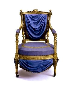 .Armchair made for Queen Marie Antoinette by Jean Baptiste Claude Sené. 1785