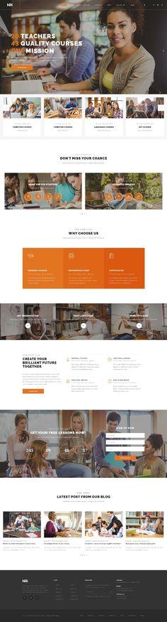 Web Design Inspiration from NRG part 2 2