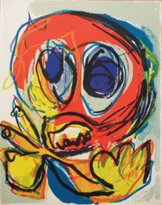 Karel Appel (1921-2006) | A beast-drawn man | 20th Century, Prints & Multiples | Christie's