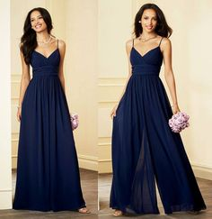 Bridesmaids jumpsuit. This looks beyond comfortable, you bridesmaids will thank you!