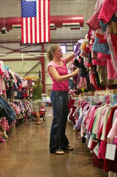 What could be more American than bargain shopping for your family at a Just Between Friends Sale? www.jbfsale.com