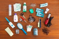 DIY Bridesmaid and Groomsmen Wedding Day Emergency Kits via Brit + Co.