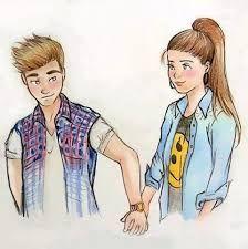 Resultado de imagem para desenho de casal apaixonado tumblr