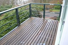Durable, it does not take too much time to clean up Balcony Flooring, Clean Up, Deck, Outdoor Decor, Home Decor, Decoration Home, Room Decor, Front Porches, Home Interior Design